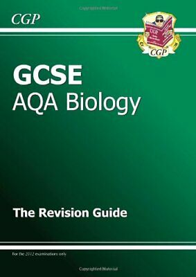 GCSE Biology AQA Revision Guide by CGP Books Paperback Book The Cheap Fast Free