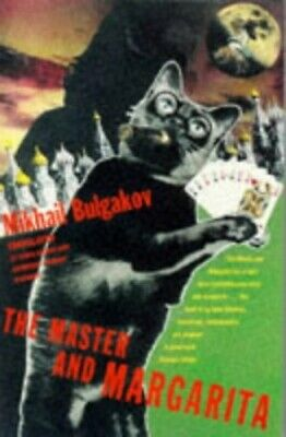 The Master and Margarita, Mikhail Bulgakov Paperback Book The Cheap Fast Free