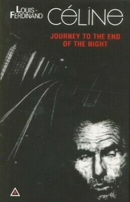 Journey to the End of the Night by Celine, Louis-Ferdinand Paperback Book The