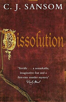 Dissolution (The Shardlake Series) by Sansom, C. J. Paperback Book The Cheap
