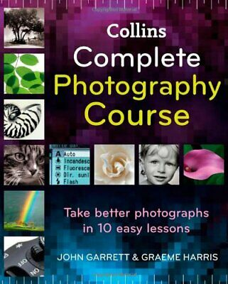 Complete Photography Course by Graeme Harris Hardback Book The Cheap Fast Free