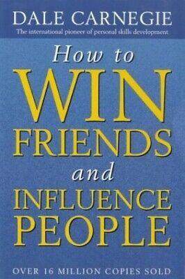 How to Win Friends and Influence People, Carnegie, Dale Paperback Book The Cheap