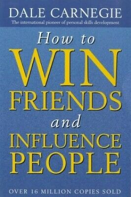 How to Win Friends and Influence People by Carnegie, Dale Paperback Book The