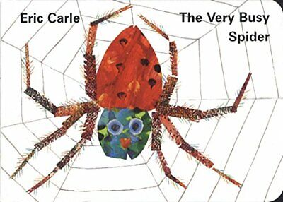 The Very Busy Spider by Carle, Eric Hardback Book The Cheap Fast Free Post