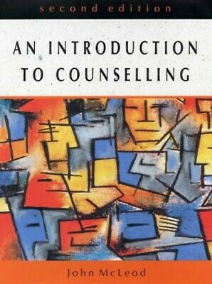 An Introduction to Counselling by McLeod, John Paperback Book The Cheap Fast