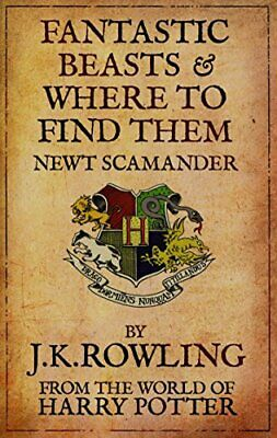 Fantastic Beasts and Where to Find Them by Rowling, J. K. Paperback Book The