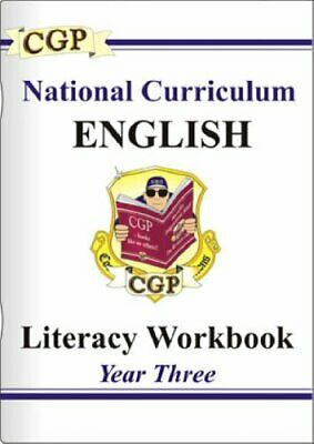 KS2 English Literacy Workbook - Year 3: Literacy Workb... by CGP Books Paperback