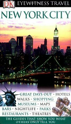 New York City (DK Eyewitness Travel Guide) by Berman, Eleanor Paperback Book The