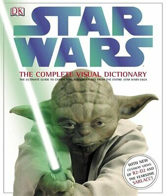 Star Wars the Complete Visual Dictionary by Windham, Ryder Hardback Book The