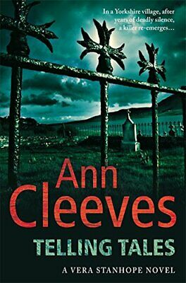 Telling Tales (Vera Stanhope) by Cleeves, Ann Paperback Book The Cheap Fast Free