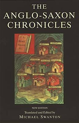 The Anglo-Saxon Chronicles Paperback Book The Cheap Fast Free Post