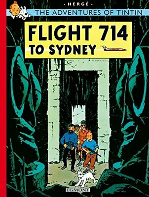 Flight 714 to Sydney (The Adventures of Tintin) by Herg� Paperback Book The