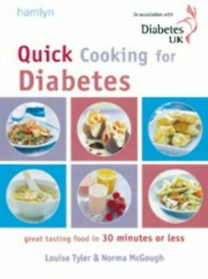 Quick Cooking for Diabetes by McGough, Norma Paperback Book The Cheap Fast Free