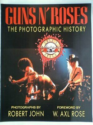 Guns N' Roses: The Photographic History Hardback Book The Cheap Fast Free Post