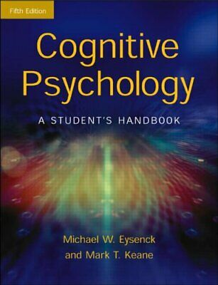 Cognitive Psychology: A Student's Handbook by Keane, Mark T. Paperback Book The