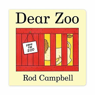 Dear Zoo, Campbell, Rod Board book Book The Cheap Fast Free Post