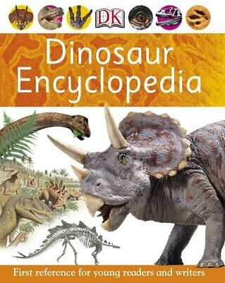 Dinosaur Encyclopedia (First Reference) by Dorling Kindersley Paperback Book The