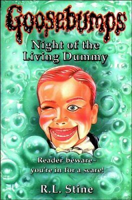 Night of the Living Dummy (Classic Goosebumps) by Stine, R. L. Paperback Book
