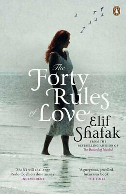 The Forty Rules of Love by Shafak, Elif Paperback Book The Cheap Fast Free Post
