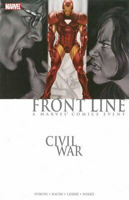 Civil War: Front Line Book 2 TPB by Paul Jenkins Paperback Book The Cheap Fast