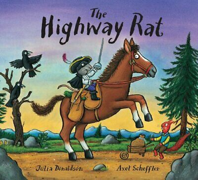 The Highway Rat by Julia Donaldson Book The Cheap Fast Free Post