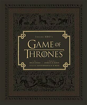Inside HBO's Game of Thrones by Cogman, Bryan Book The Cheap Fast Free Post