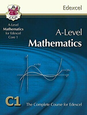 AS-Level Maths for Edexcel - Core 1: Student Book by CGP Books Book The Cheap