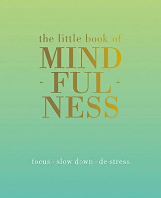 The Little Book of Mindfulness by Tiddy Rowan Book The Cheap Fast Free Post