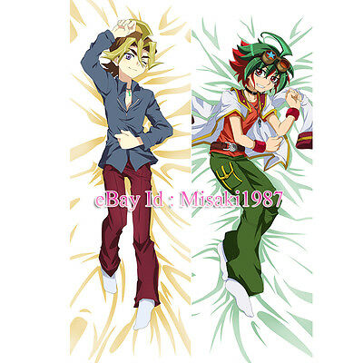 Yu-Gi-Oh Dakimakura Yuya Sakaki Anime Hugging Body Pillow Case Cover