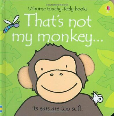 That's Not My Monkey by Watt, Fiona Board book Book The Cheap Fast Free Post