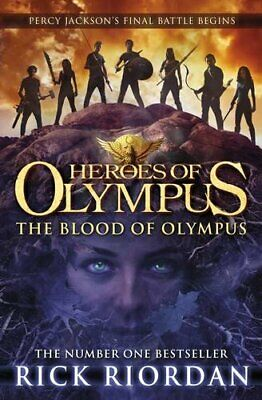 The Blood of Olympus (Heroes of Olympus Book 5) by Riordan, Rick Book The Cheap