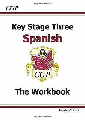 KS3 Spanish Workbook with Answers (CGP KS3 Languages) by CGP Books Book The