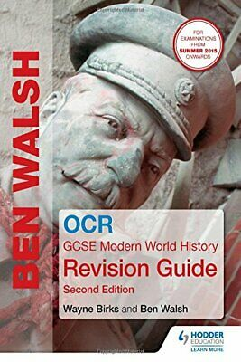 OCR GCSE Modern World History Revision Guide 2nd Edition (Histo... by Walsh, Ben