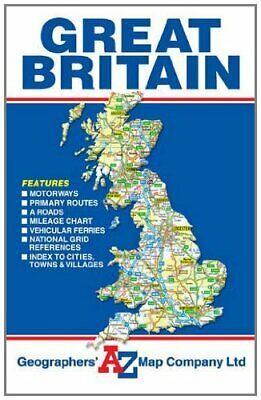 Great Britain Road Map (A-Z Road Ma... by Geographers A-Z Map  Sheet map, folded