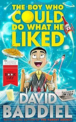 The Boy Who Could Do What He Liked by Baddiel, David Book The Cheap Fast Free