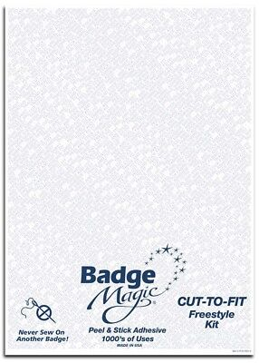 Cut-To-Fit Freestyle Scout Badge Kit By Badge Magic