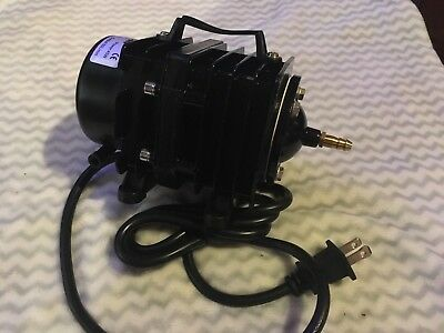 Gast USA 24V Brushless Rotary Vane Air Pump Compressor 24 volt DC 24vdc *SPECIAL