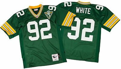 5eccec9c Reggie White Green Bay Packers Mitchell & Ness Authentic 1993 Green NFL  Jersey