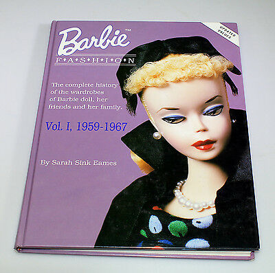 Reference Book On The History Of Barbie By Sarah Sink Eames