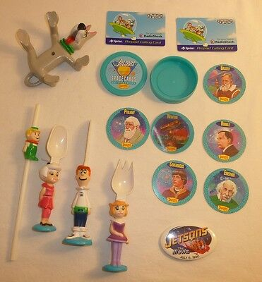 The Jetsons Cartoon Items Lot Hanna Barbera Astro George Pin Judy Elroy Cards