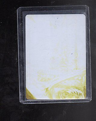 2016 Cryptozoic DC Justice league Yellow printing plate