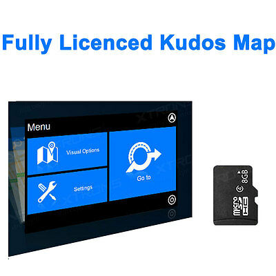 Latest KUDOS Navigation GPS Map Card 8GB TF for Car DVD Player North America US