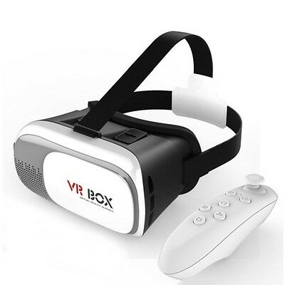 8ware VRBox Kit with VR Headset and Remote Bluetooth Controller