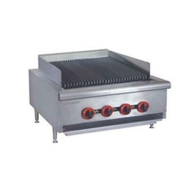 Gas Char Grill 4 Burner, Commercial Kitchen Equipment
