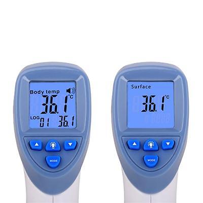 Digital LCD Infrared Thermometer for Baby Adult Forehead Ear Temperature