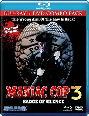 Maniac Cop 3: Badge of Silence [New Blu-ray] With DVD, Ac-3/Dolby Digital, Dig