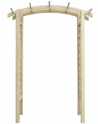 Pergola Garden Wooden Structure Outdoor Patio Rose Arch Sturdy Rot Resistant