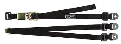 TRS Spare Wheel Strap BLACK - 3-Point Fixed Adjustable Ratchet Tie-Down 25mm/1""