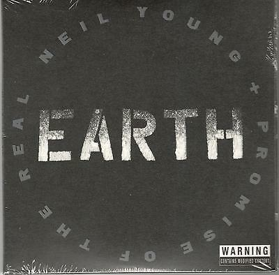Young Neil + Promise Of The Real Earth Sealed 2 Cd Set New