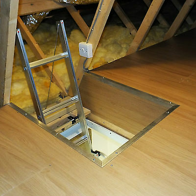 Attic flooring system - storage in your loft without squashing the insulation